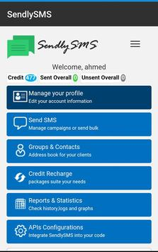SendlySMS apk screenshot