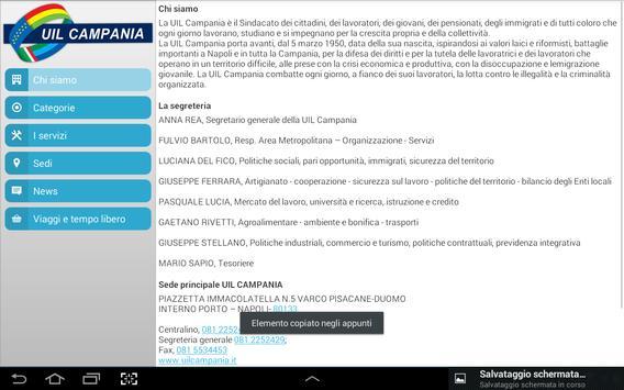 Uil Campania apk screenshot