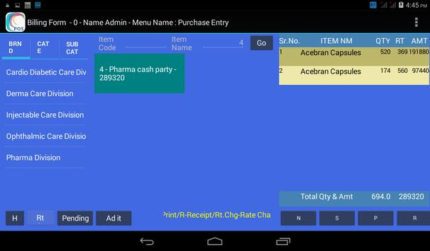 Pharma Billing & Inventory apk screenshot
