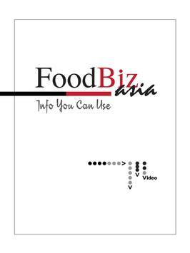 FoodBizAsia poster