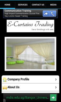 E-Curtains poster