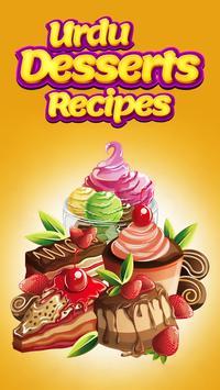 Urdu Dessert Recipes poster
