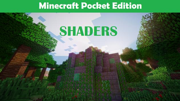 Shaders Mod for Minecraft PE poster