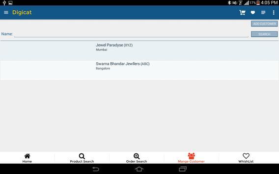 Digicat - Demo apk screenshot