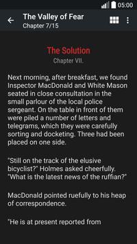 Sherlock Holmes Books apk screenshot