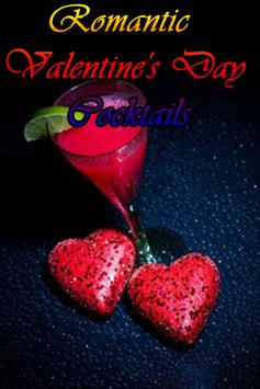 Valentines Day Cocktails poster