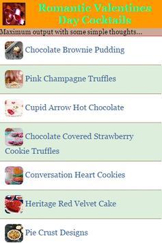Valentines Day Cocktails apk screenshot