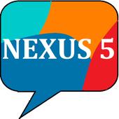 Nexus 5 SMS ( Lollipop 5.0 ) icon