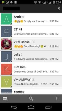 Messaging Lollipop 5.0 (AOSP) poster
