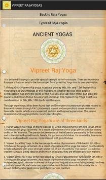 Astrological Yogas apk screenshot