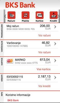 BKS Bank Slovenija poster