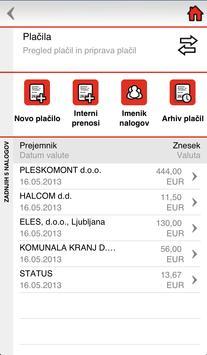 BKS Bank Slovenija apk screenshot
