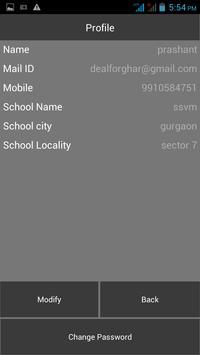 School Noticeboard Schools apk screenshot