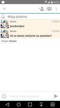 Poslovni komunikator apk screenshot