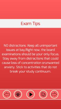 Exam Tips apk screenshot