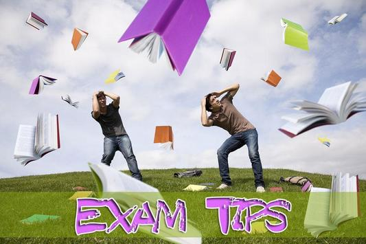 Exam Tips poster