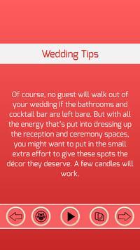 Wedding Tips apk screenshot