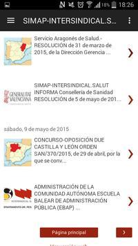 Simap-IntersindicalSalut Peset apk screenshot