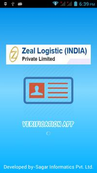 Zeal Verification App poster