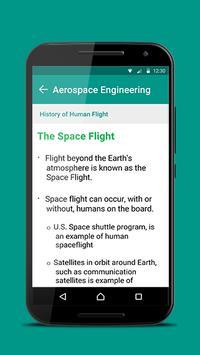 Aerospace Engineering 101 apk screenshot