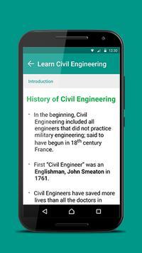 Civil Engineering 101 apk screenshot