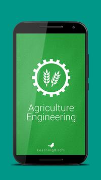 Agriculture Engineering 101 poster
