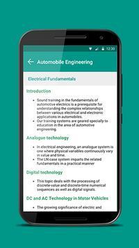 Automobile Engineering apk screenshot