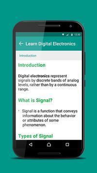 Digital Electronics 101 apk screenshot