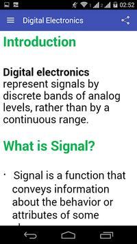Digital Electronics apk screenshot