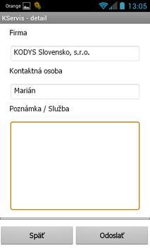KServis apk screenshot