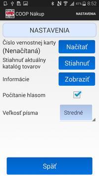 COOP Nákup apk screenshot