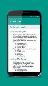 Psychology apk screenshot