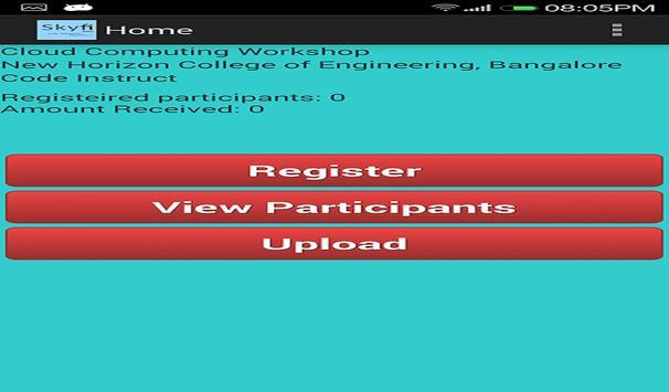 Skyfi Labs Registration apk screenshot