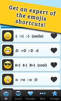 Secret Emoticons for Skype apk screenshot