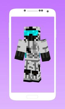 Battle skins for minecraft apk screenshot