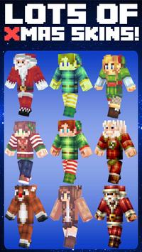 XMAS Skins for Minecraft poster