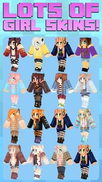 Girl Skins For Minecraft poster