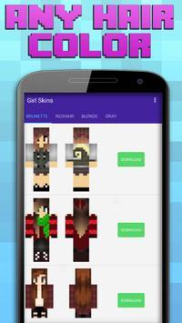 Girl Skins For Minecraft apk screenshot