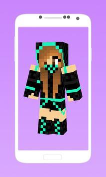 Ninja skins for minecraft poster
