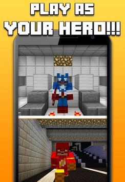Superhero Skins for Minecraft poster