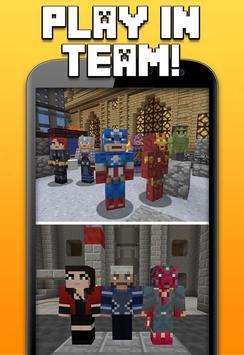Superhero Skins for Minecraft apk screenshot