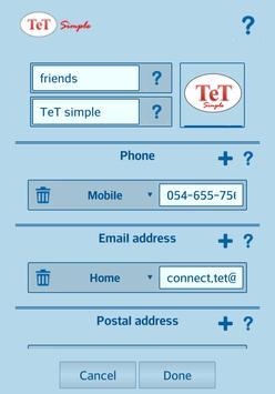 TeT apk screenshot