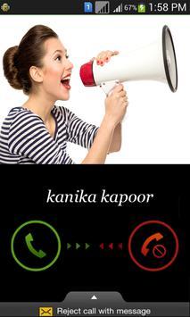 Name Announcer: Caller poster