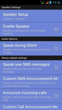 Speak Caller Name: Announcer ♫ apk screenshot