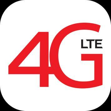 SpeedUp 4G LTE poster