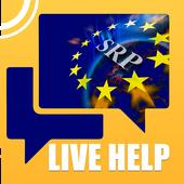 SRP LIVE HELP icon