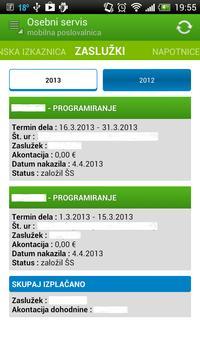 e-poslovalnica | ŠS apk screenshot