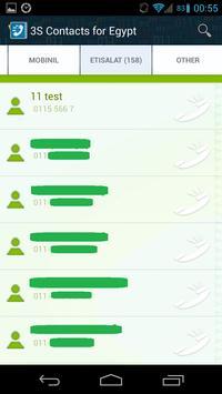 Notephone Egypt (3S Contacts) apk screenshot