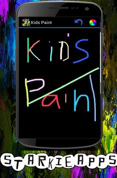kid's paint 2016 poster
