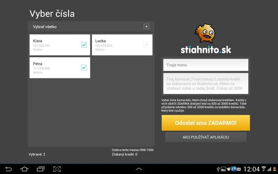 Stiahnito.sk - Pošli sms apk screenshot